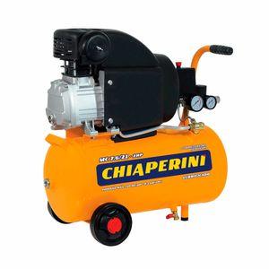 Motocompressor de Ar 21 litros 2HP Chiaperini MC 7.6/21 220v