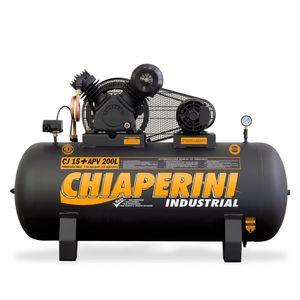 Compressor Ar Alta Pressão 200 litros Chiaperini CJ 15+ APV