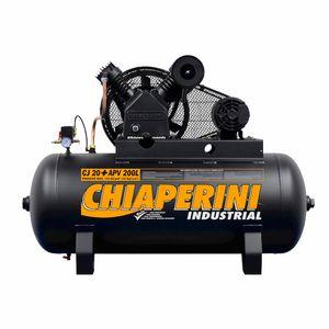 Compressor Ar Alta Pressão 200 litros Chiaperini CJ 20+ APV