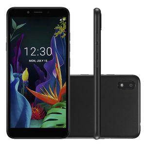 Smartphone Lg K18 16gb Dual Chip 5.45'' Android 7.0 Quad Preto