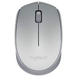 Mouse Ótico Sem Fio 1000dpi USB Logitech M170 Prata