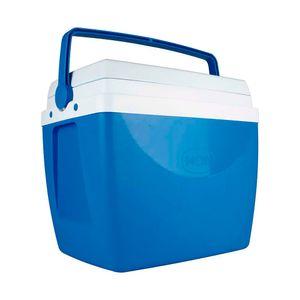 Caixa Térmica Alça Polipropileno Azul 34 litros Mor