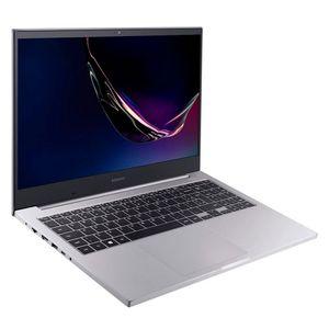 """Notebook Samsung Book E20 Dual-Core 4GB 500GB 15,6"""" Prata"""