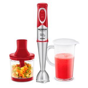 Mixer Com Copo Mondial Power Red Premium 500W M-10 220v