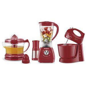 Conjunto Especial Kit Gourmet II Red KT-70 Mondial 110v