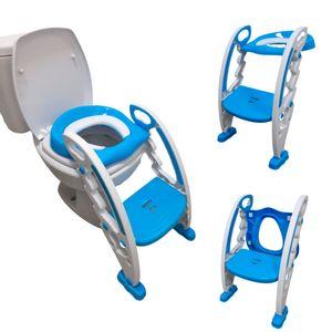Assento Redutor Infantil Com Escada Azul BW184AZ Importway