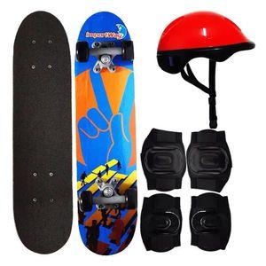 """Skate 24"""" Com Kit de Proteção BW013 Importway"""