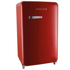 Frigobar PFG120 Vintage Vermelho 121 Litros Philco 110v