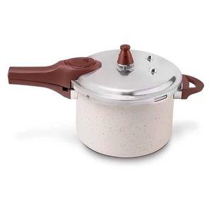 Panela De Pressão Cerâmica Indução Pressure 4,2 L Vanilla Brinox