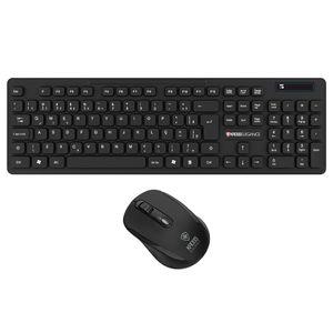 Combo Teclado Mouse Sem Fio Kross Preto KE-KM558V1