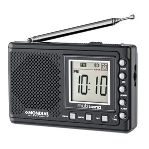 Rádio Portátil Mondial RP-04 Multi Band 2 AM FM SW RP-04