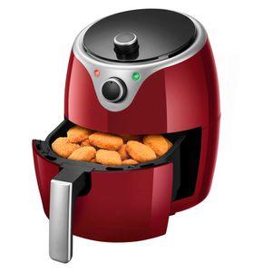 Fritadeira Elétrica Sem Óleo Vermelha Elgin Flash Fryer 110v