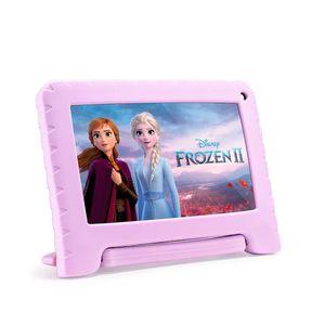"""Tablet 7"""" Kids Frozen Rosa NB370 32GB Wi-fi Multilaser"""