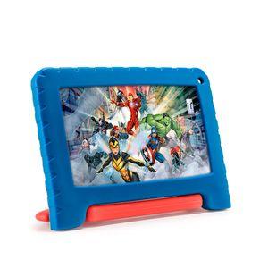 "Tablet 7"" Kids Vingadores Azul NB371 32GB Wi-fi Multilaser"
