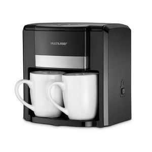Cafeteira Elétrica 2 Xícaras BE009 Preto Multilaser 110v